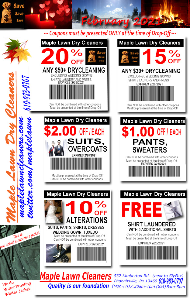 westco martinizing dry cleaning coupons